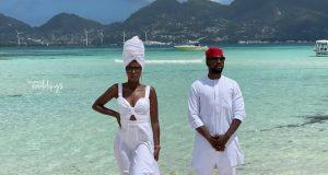 Debola Williams and his wife