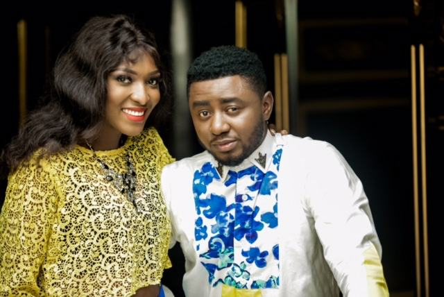 Esther Ene Ojire and her husband