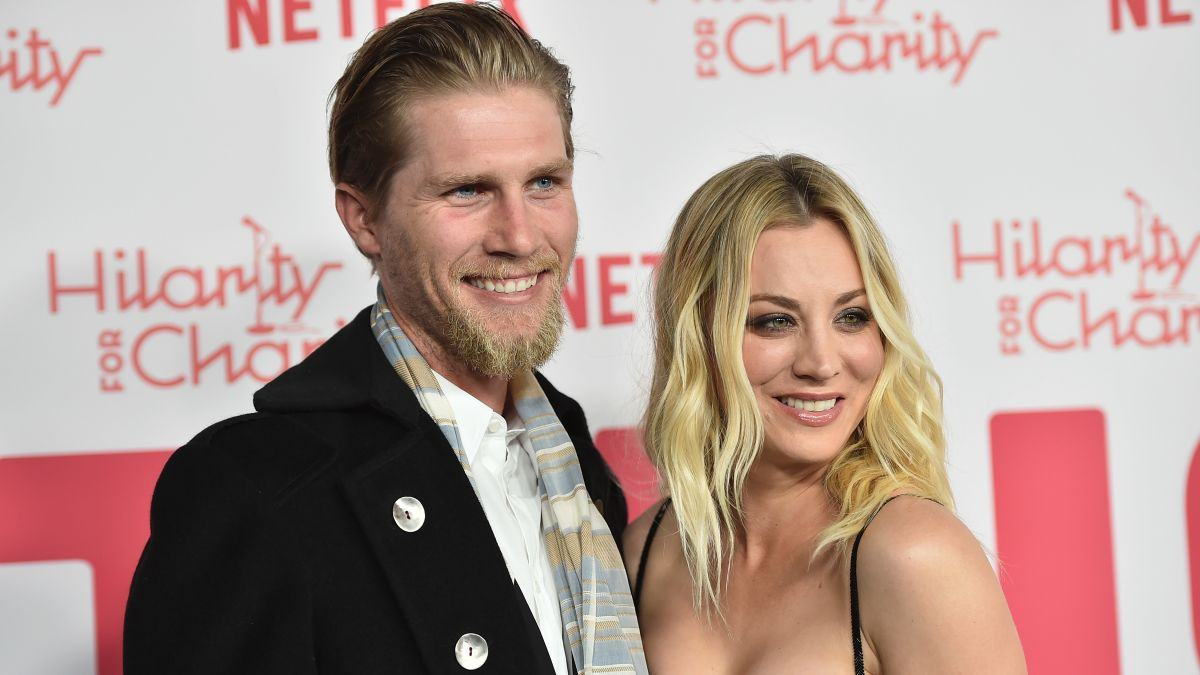 Kaley Cuoco and her husband