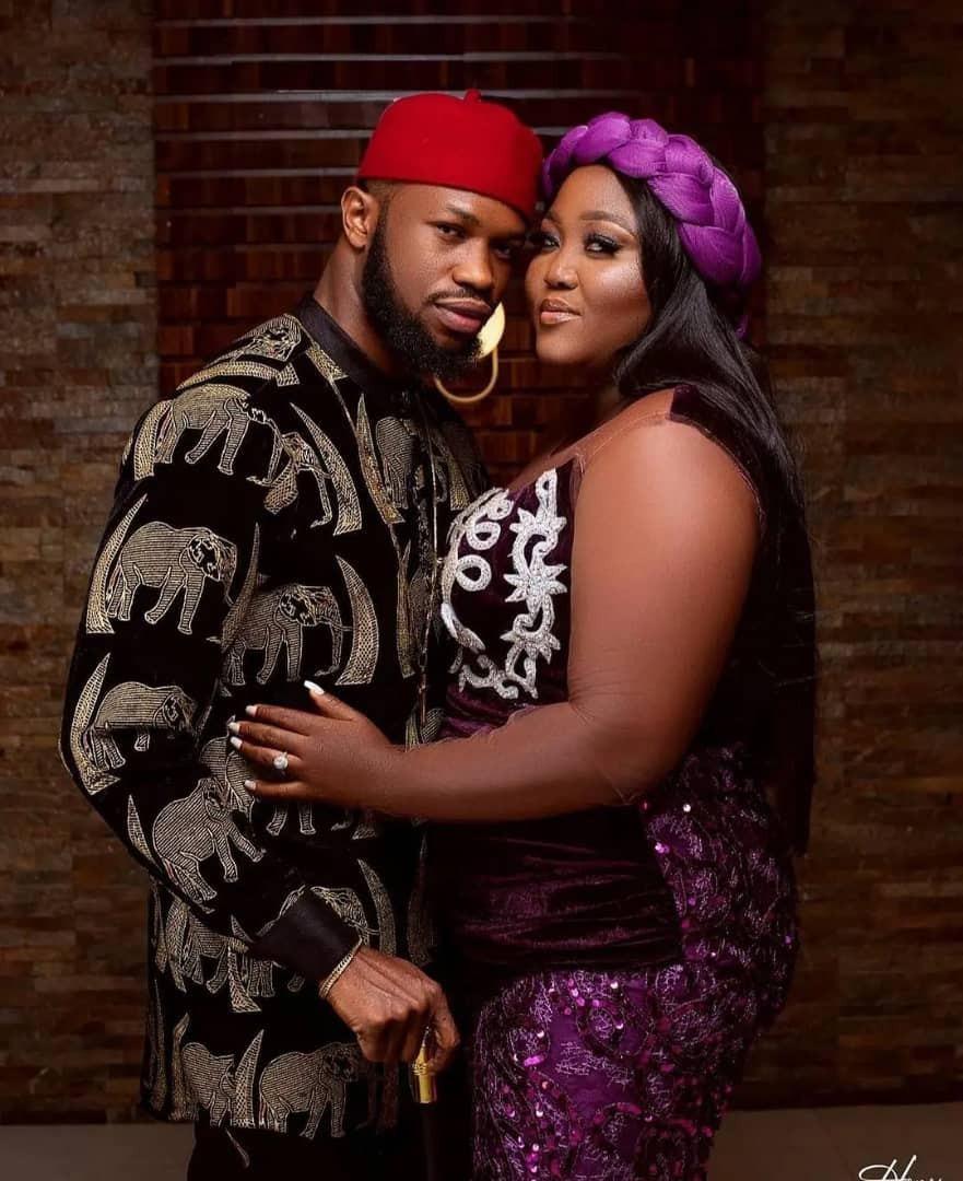 Stan Nze and Blessing Obasi